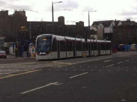 The general public remain negative towards the Edinburgh trams