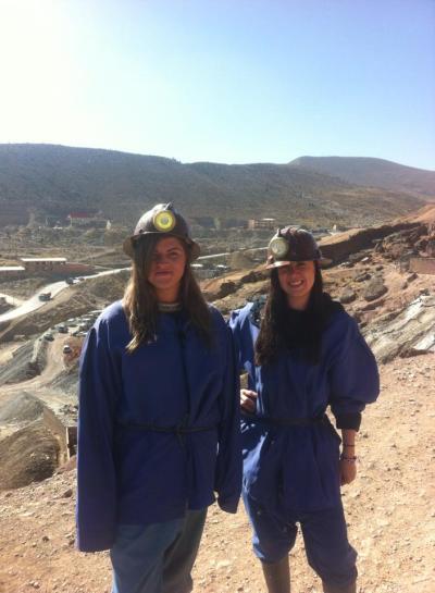 Mining chic.